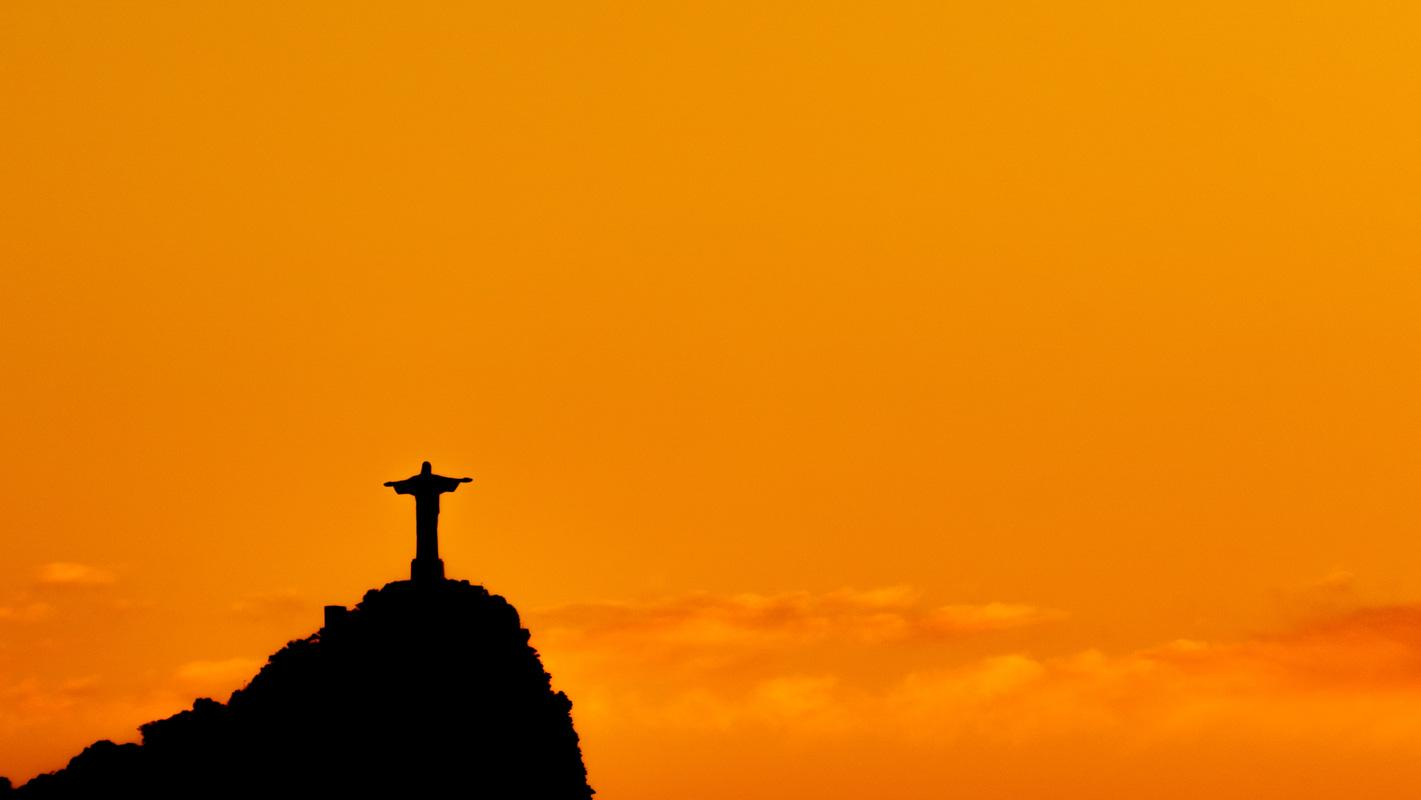 brazil christ at sunset powerful god quote about the sunset