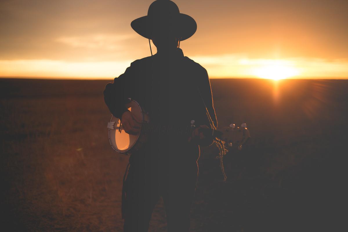 musician at sunset insta captions
