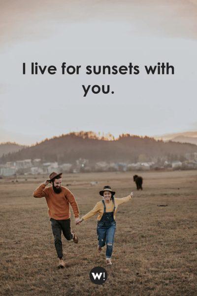 Cherish every sunset