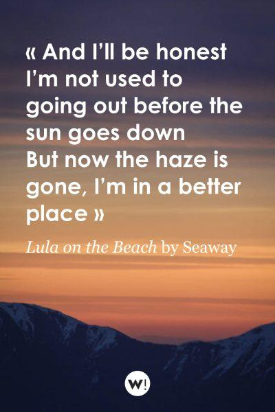 Lula on the Beach by Seaway
