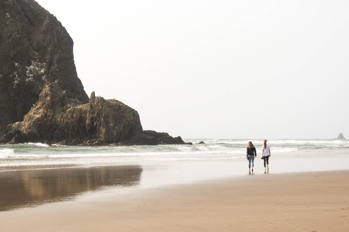 2 girls walking on the beach quotes on beach walk