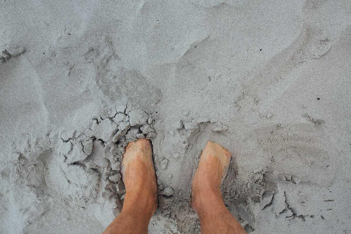feet in sand beach quotes about beach sand