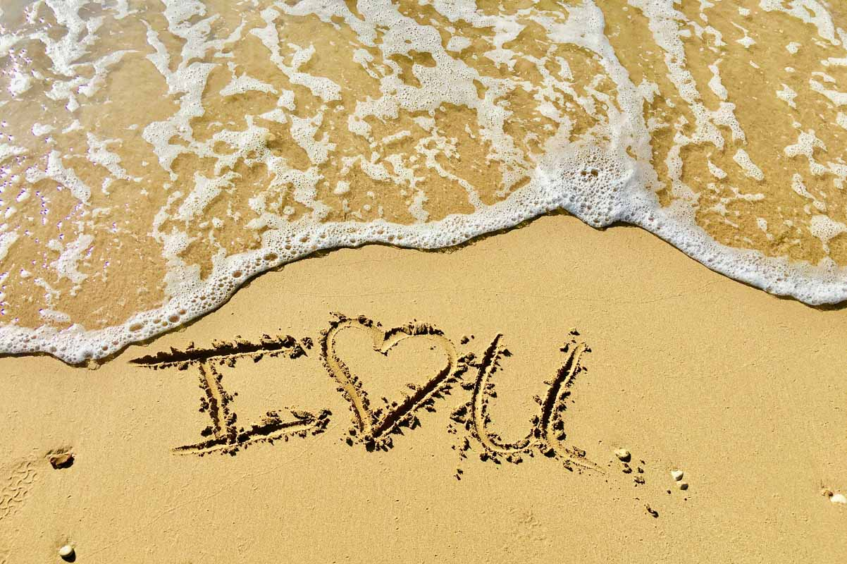 i love you on the beach quotes love