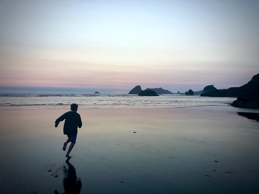kid running on the beach motivational quotes