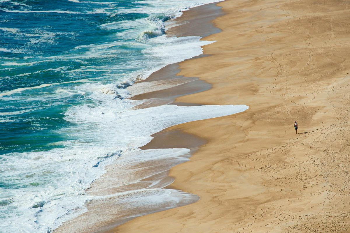 large sand beach and turquoise sea quotes on beach sand