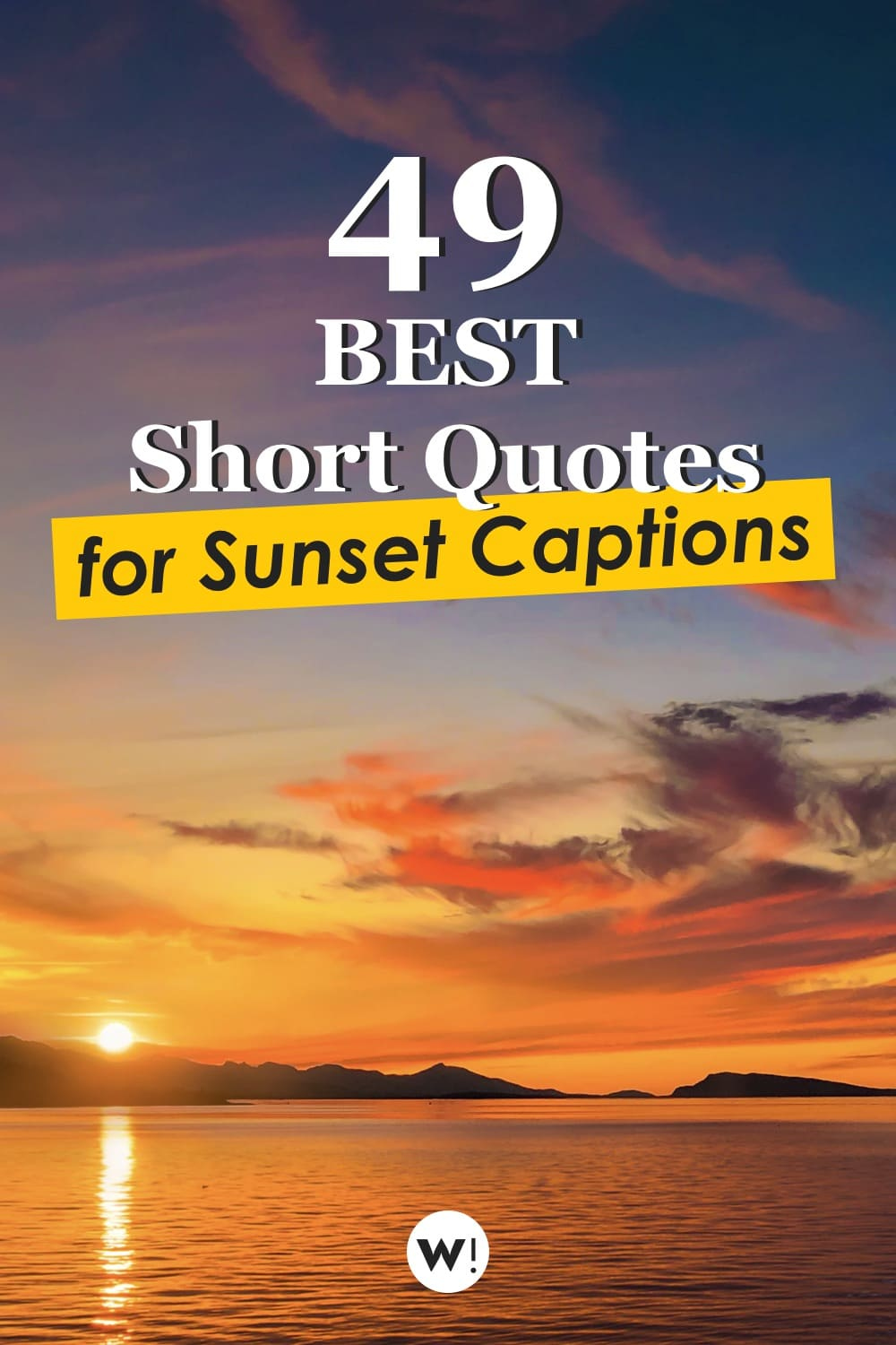 No time to read a 50 words sentence? Looking for very short sunset quotes? Don't you go anywhere, we've got plenty of those here. Super small quotes & sentences about sunset, perfect to use as short sunset captions. sunset quotes instagram caption short |sunset quotes instagram short | sunset quotes short | beautiful sunset quotes short