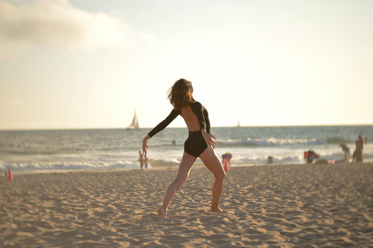 girl dancing on the beach quotes from songs
