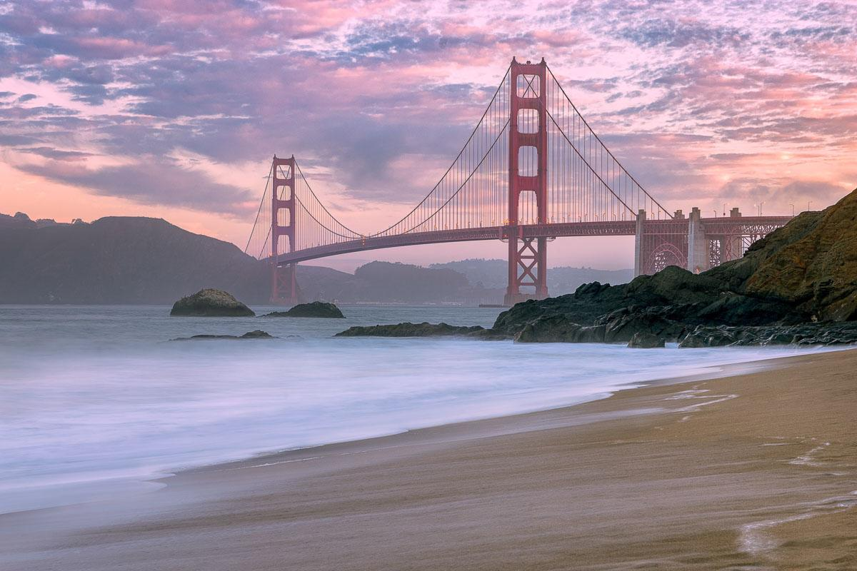 golden gate bridge san francisco on the beach quotes about beaches