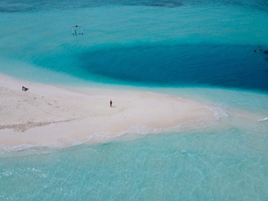 sea surrounding a small beach insta quotes beach sea quotes